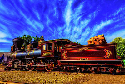 Beautiful Locomotive Glenbrook Poster