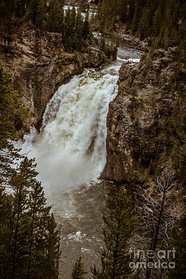 Beautiful Lower Falls Poster