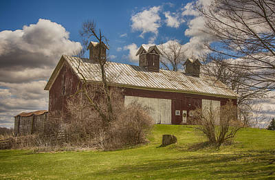 Beautiful Old Barn Poster by JRP Photography