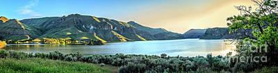 Beautiful Owyhee Reservoir Poster by Robert Bales