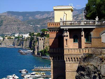 Beautiful Sorrento Italy Poster