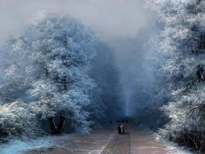 Beautiful Sound Of Silence Poster by Georgiana Romanovna