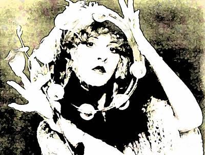 Beautiful Stevie Nicks Poster by John Malone
