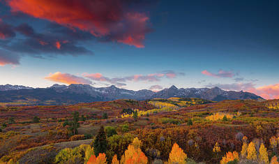 Poster featuring the photograph Beautiful Tints Of Autumn by Tim Reaves