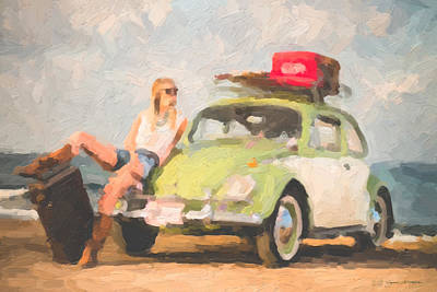 Beauty And The Beetle - Road Trip No.1 Poster