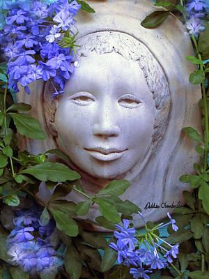 Beauty Blue Poster by Debbie Chamberlin