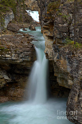Beauty Creek Blue Waterfall Poster