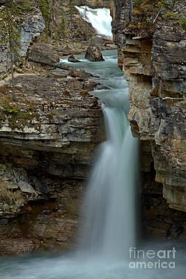 Beauty Creek Streams Od Blue Poster