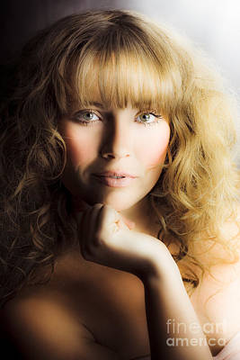 Beauty Glamour And Makeup Poster by Jorgo Photography - Wall Art Gallery