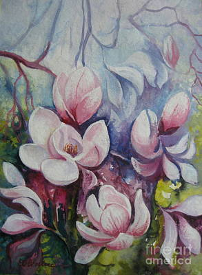 Poster featuring the painting Beauty Of Spring by Elena Oleniuc