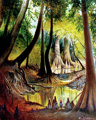 Beaver Dam On Village Creek Poster