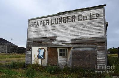 Beaver Lumber Company Ltd Robsart Poster by Bob Christopher