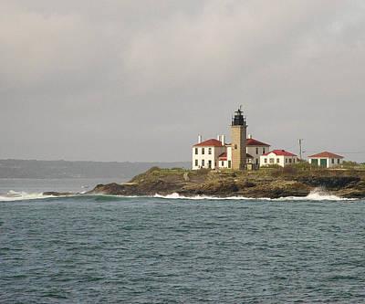 Beavertail Lighthouse Poster