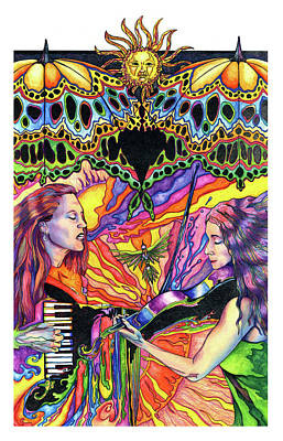 Bebe La La Poster by Kd Neeley