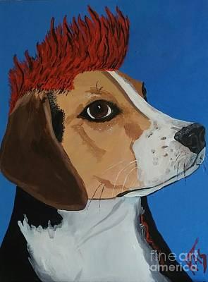 Beckham Beagle Poster