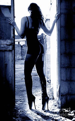 Becky  Ballet Boots Poster by Erotic Photographic