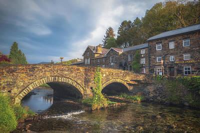 Beddgelert Bridge Poster by Chris Fletcher