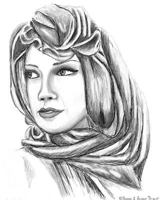 Bedouin Woman Poster