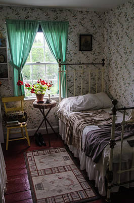 Poster featuring the photograph Bedroom At Green Gables by Rob Huntley