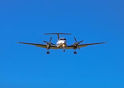 Beechcraft Super King Air 350 Poster