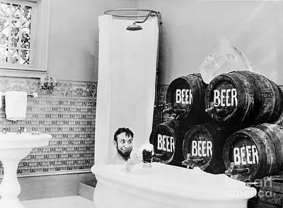 Beer Bath Poster
