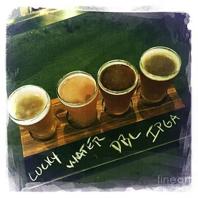 Beer Flight 2 Poster by Nina Prommer