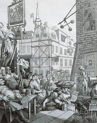 Beer Street In London Poster