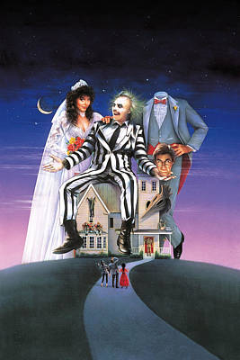 Beetlejuice 1988 Poster by Unknown