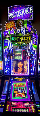 Beetlejuice Slot Machine Lumiere Place Casino Poster by David Oppenheimer