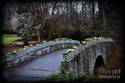 Beginning Of Spring Bridge Poster by Eva Thomas