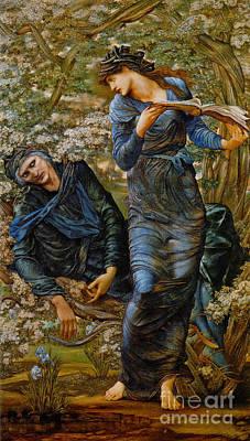 Beguiling Merlin 1873 Poster