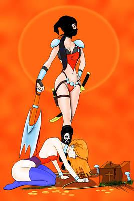 Beheader Poster by Lynn Rider