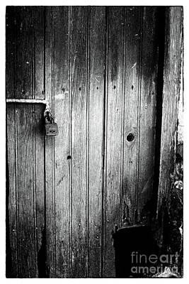 Behind The Locked Door Poster