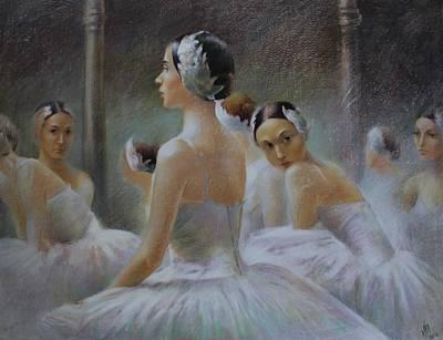Behind The Scenes Poster by Vali Irina Ciobanu