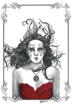 Bejeweled Poster by TP Dunn