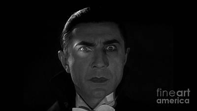 Bela Lugosi  Dracula 1931 And His Piercing Eyes Poster