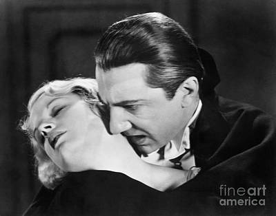 Bela Lugosi  Dracula 1931  Feast On Mina Helen Chandler Poster