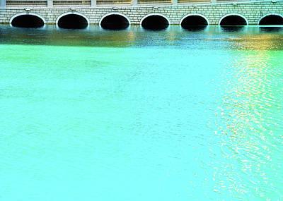 Belaggio Bridge Poster