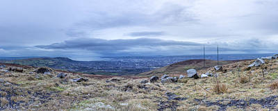 Belfast Lough From Divis Mountain Poster