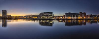 Belfast Near The Docks Poster