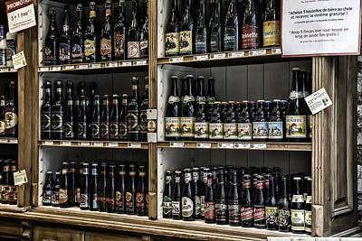 Belgian Beers Poster
