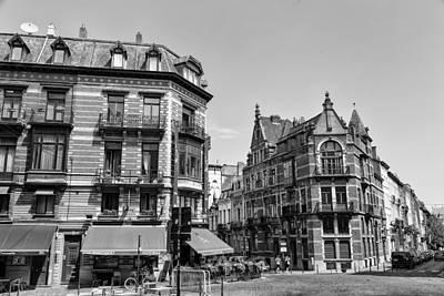 Belgian Buildings Poster