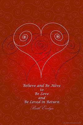 Believe And Be Alive Poster