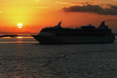 Belize Sunset Poster
