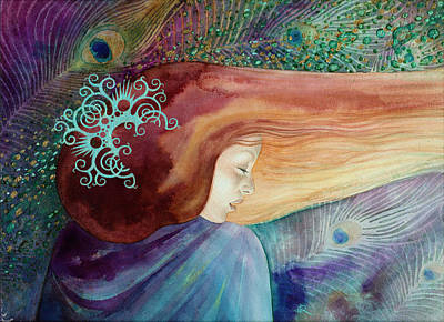 Poster featuring the painting Bella Aurora by Ragen Mendenhall