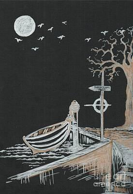 Bella Lunar Point Poster