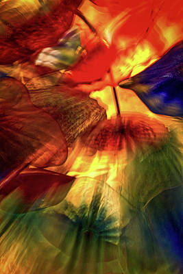 Bellagio Ceiling Sculpture Abstract Poster by Stuart Litoff