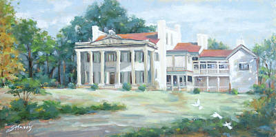 Belle Meade Plantation Poster by Sandra Harris