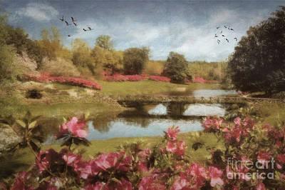 Bellingrath Gardens Poster by Lianne Schneider