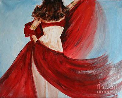 Belly Dancer Poster by Julie Lueders